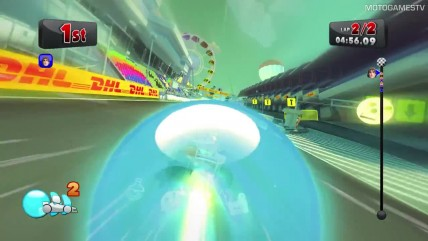F1 Race Stars: Japan Track Gameplay