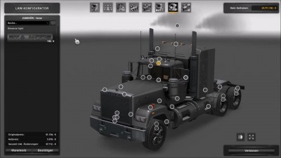 "ETS 2 ""Обзор Mack Superliner-V8 v3.0"""