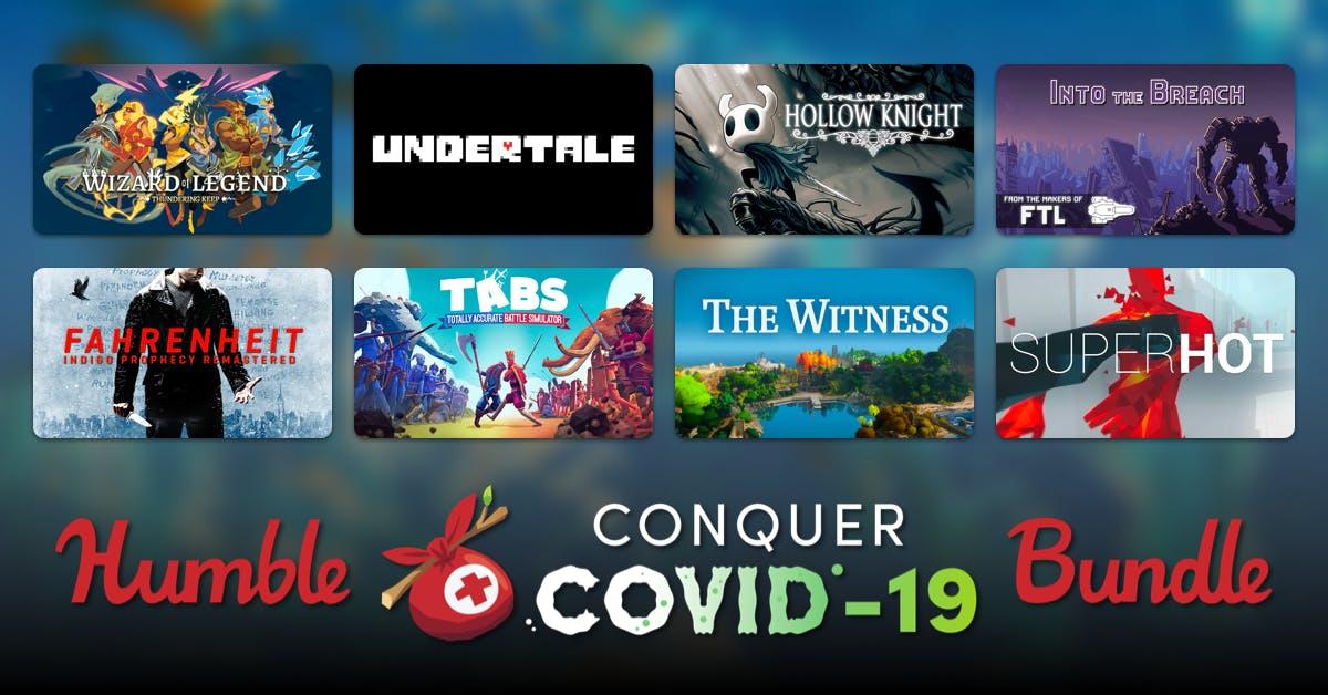 Humble Conquer COVID-19 Bundle предлагает 44 игры и многое другое