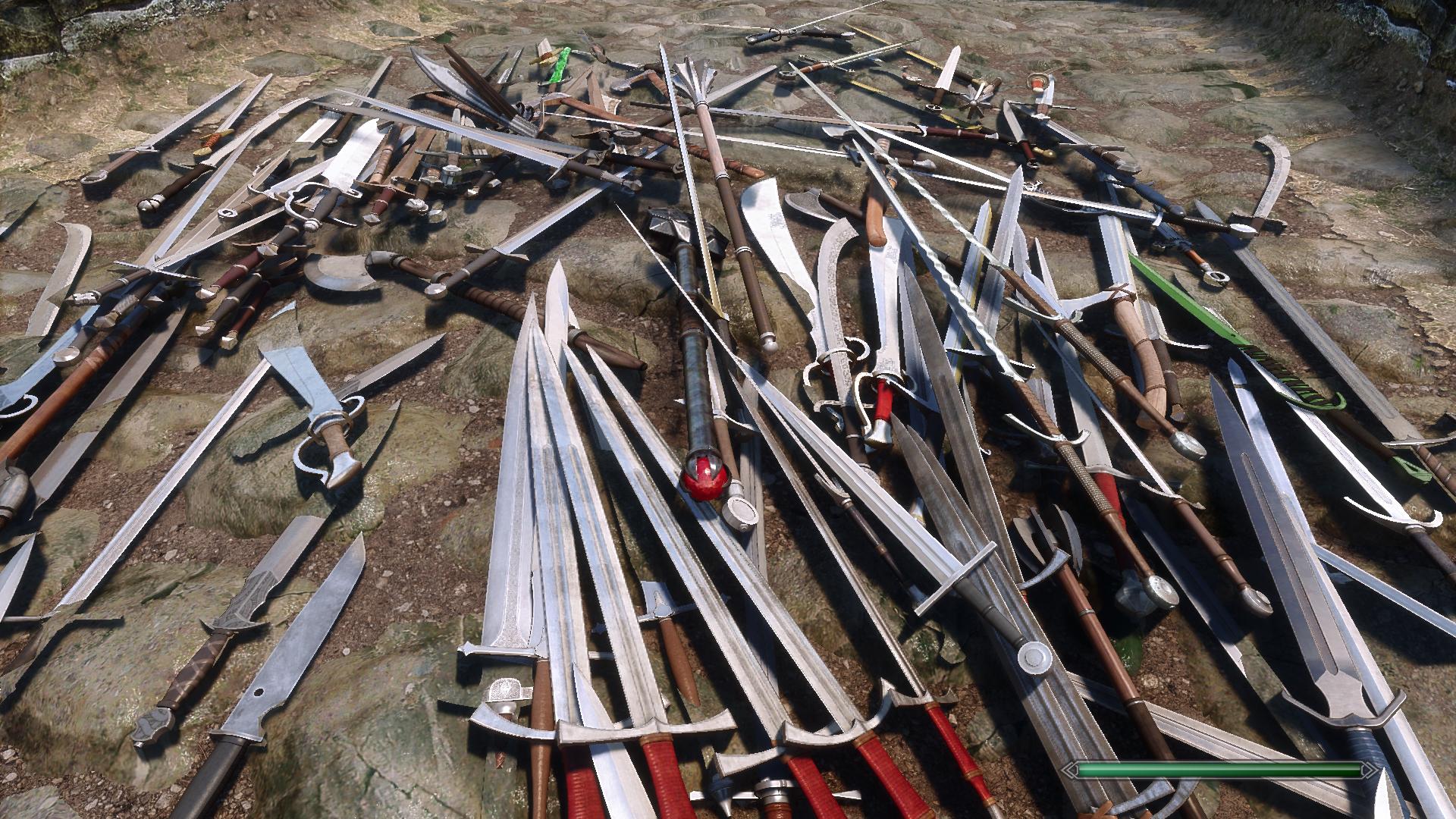 Этот мод на 1 Гб приносит более 100 высококачественного и сбалансированного оружия для The Elder Scrolls V: Skyrim