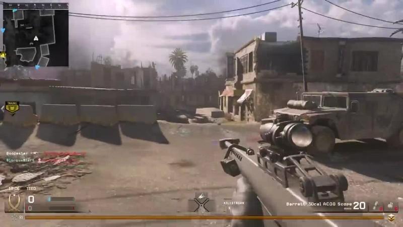 M16 это все тот же P06 (Call of Duty 4: Modern Warfare Remaster)