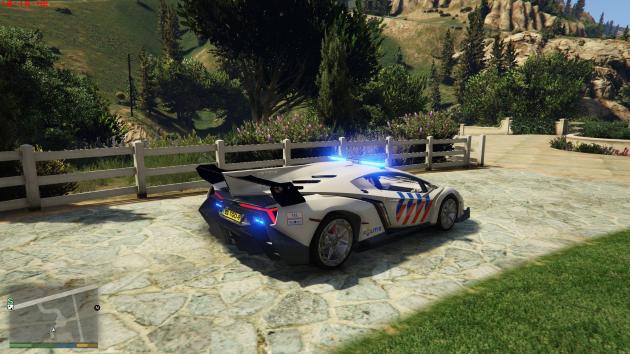 Lamborghini veneno dutch police