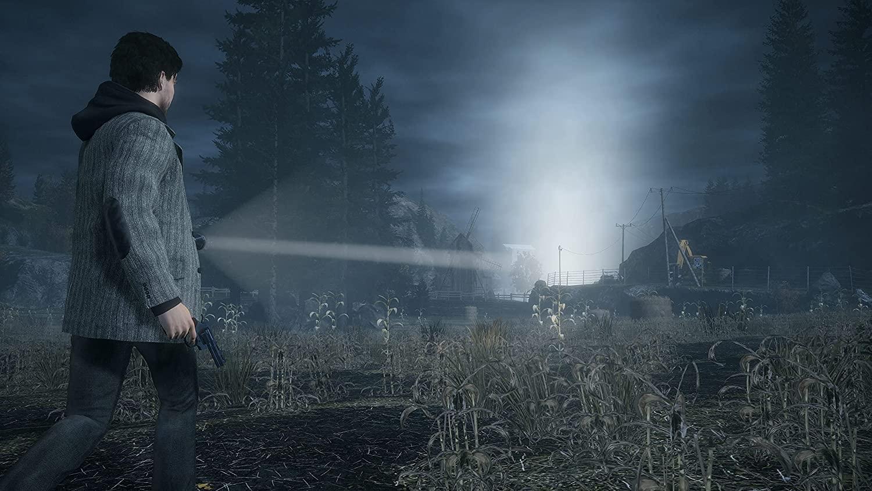 Скриншоты ремастера Alan Wake
