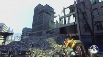 24 минут ранней беты и технического демо Half-Life 2