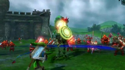 "Zelda Hyrule Warriors ""Link Trailer (Wii U)"""