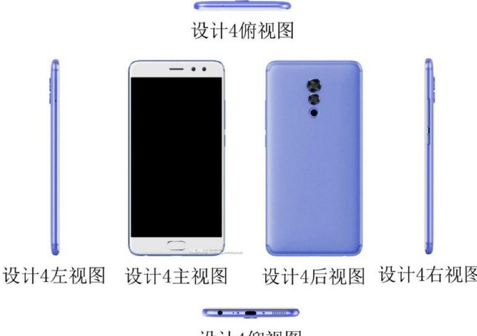 Безрамочный смартфон Meizu M6S сбоковым сканером отпечатков пальцев показался навидео