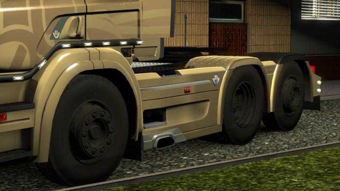 Скачать мод грязные дороги для euro truck simulator 2 1222 - c10