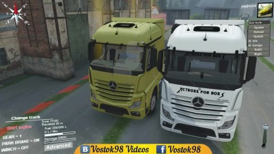 Spintires Full Version - Mercedes-Benz Actros MP4