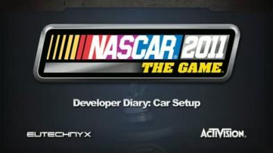 """NASCAR The Game 2011 """"Дневник разработчиков: Настройка автомобиля"""""""
