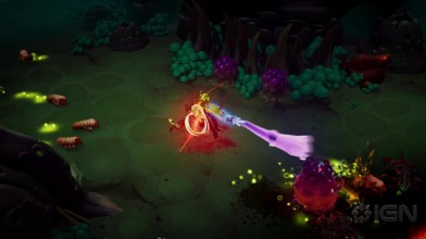Геймплейный трейлер Torchlight Frontiers