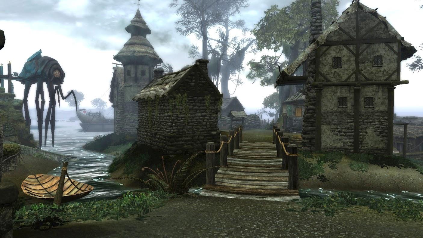 Интересные детали Morrowind