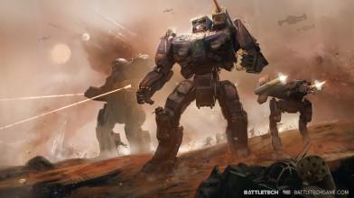 Геймплей пошаговой стратегии BattleTech