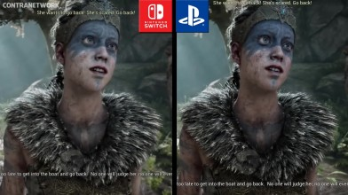 Hellblade - Сравнение графики на Switch и PS4