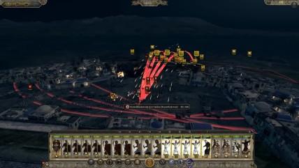 Total War Attila Ночная битва!