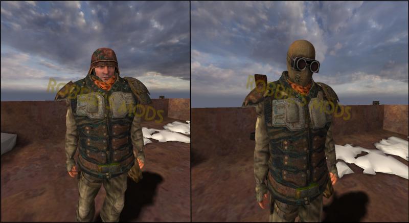 Модели НПС с бронёй из игры Survarium