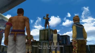 Прибываем в Люка. Final Fantasy X HD Remastered на русском языке. Серия 9