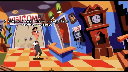 Day of the Tentacle Remastered - Начало игры