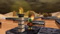 Мод добавляет подземелье из Mario 64 в Ocarina Of Time