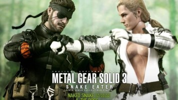 Фигурки Naked Snake и The Boss из Metal Gear Solid 3: Snake Eater никогда не казались настолько реалистичными