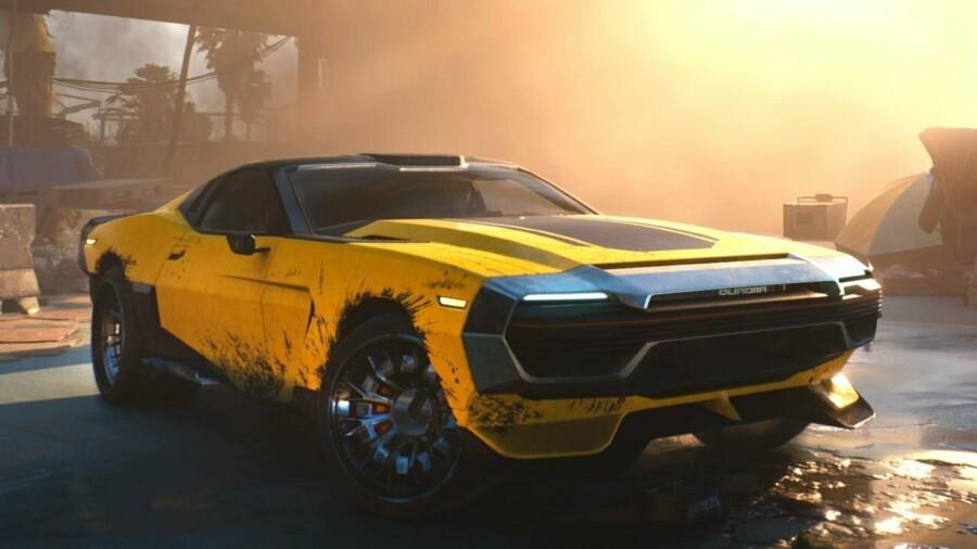 Студия CD Projekt RED поделилась подробностями об автомобилях в Cyberpunk  2077
