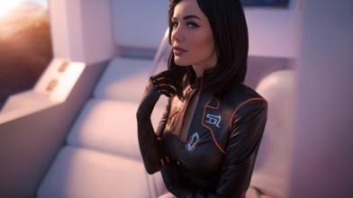 Взгляните на невероятный косплей Миранды Лоусон из серии Mass Effect