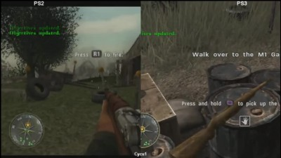 Call of Duty 3 - PS2 vs PS3