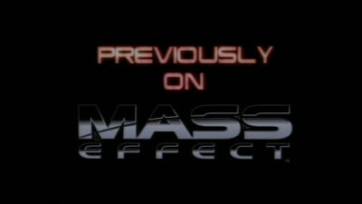 "Mass Effect 2 ""Ранее в Mass Effect (PS3)"""