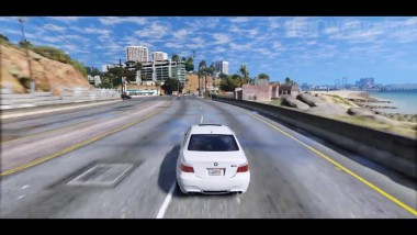 GTA 5 Graphics - BMW M5 E60!