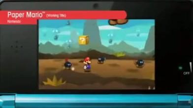 """Paper Mario 3D """"Тизер"""""""