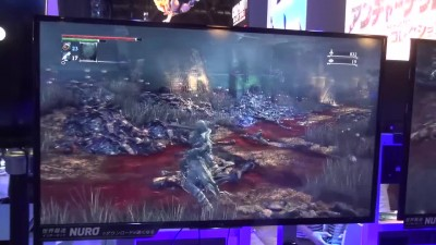 "Bloodborne: The Old Hunters ""Геймплей с TGS 2015"""