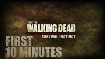 Первые 10 минут игры The Walking Dead: Survival Instinct
