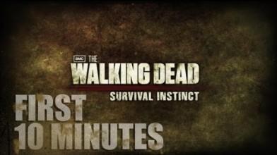 Первые 10 минут игры The Walking Dead: Survival Instinct