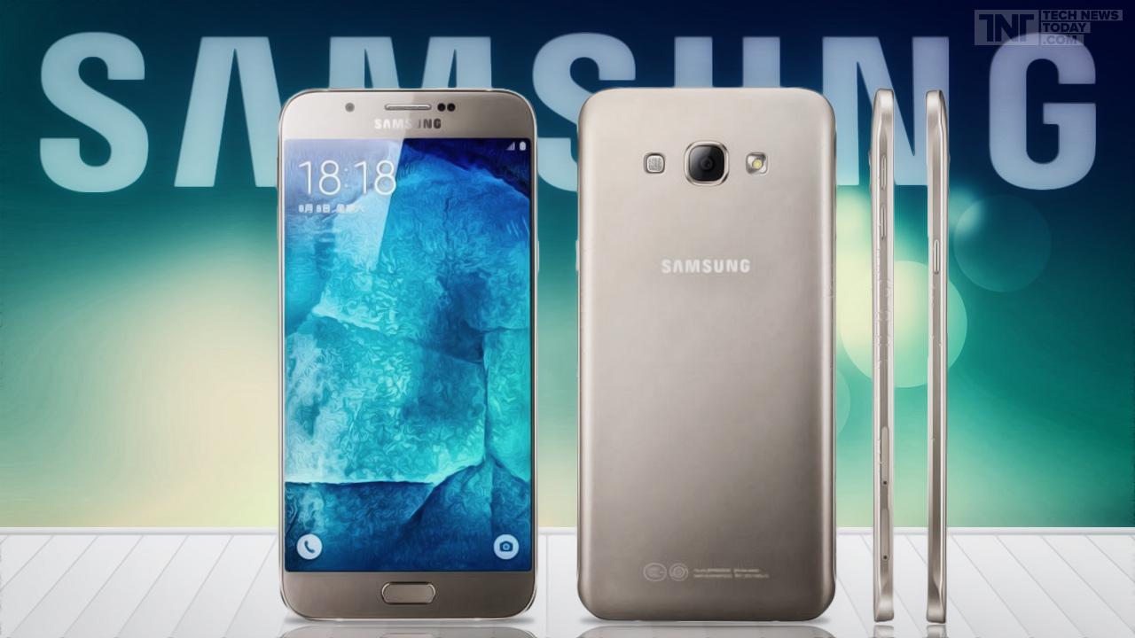 Самсунг официально представила Galaxy A8 2016