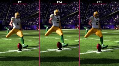 Madden 19 - PC vs. PS4 vs. Xbox One Сравнение графики