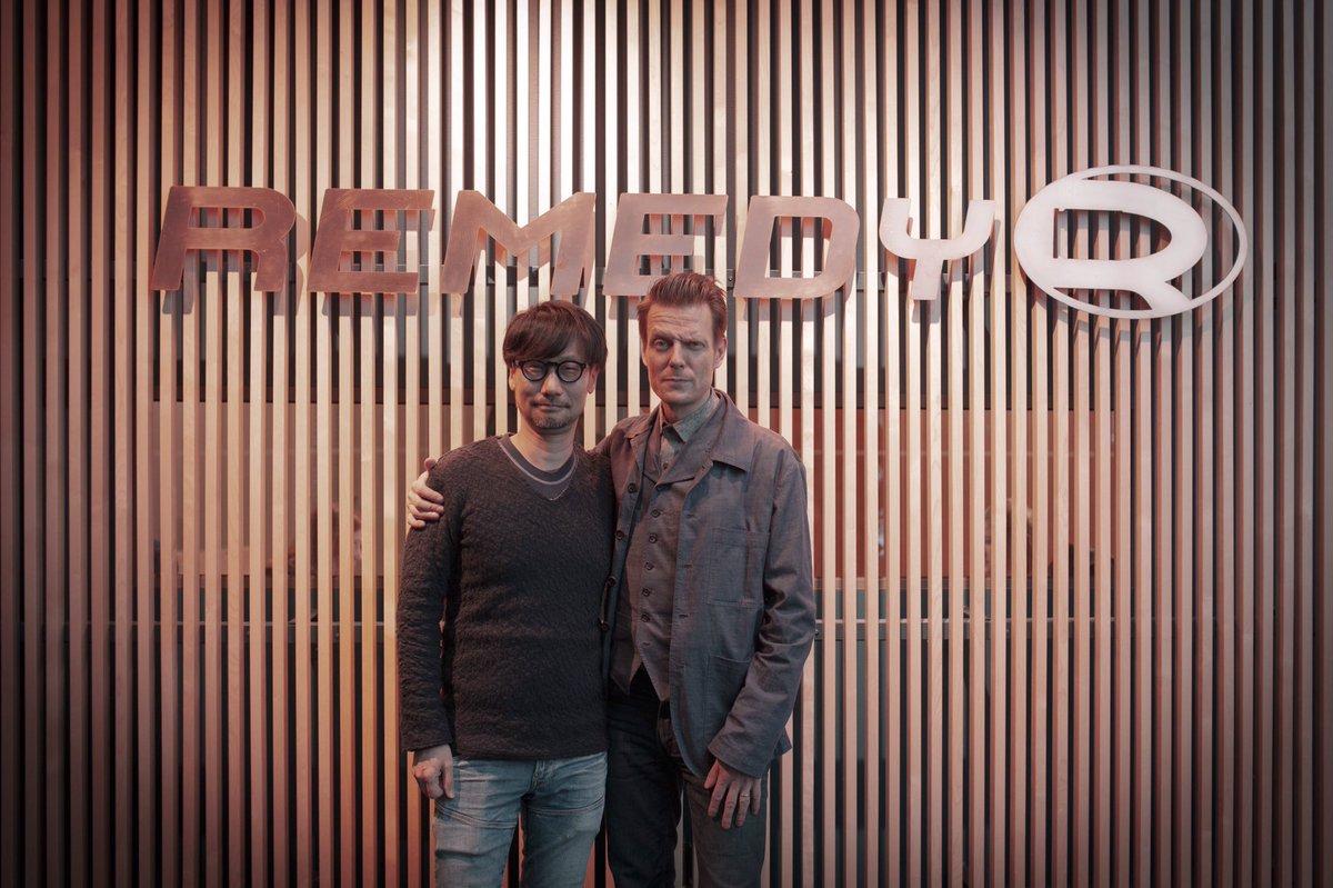 Хидео Кодзима посетил офис Remedy и встретился с Сэмом Лэйком