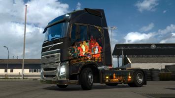 Russian Paint Jobs Pack для Euro Truck Simualtor 2!