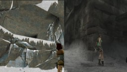 Сравнение графики Tomb Raider Original vs Anniversary