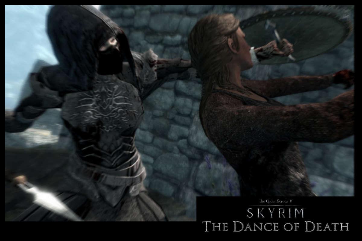 Мод танец смерти для skyrim скачать