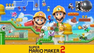 Super Mario Maker 2 дебютировал на первом месте в Японии