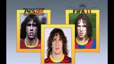 PES 2011 vs FIFA 11 *Лица*
