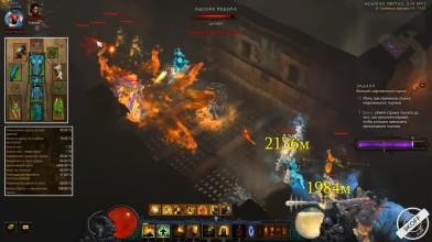 Diablo 3: TOP монах (111 ВП) Волна Света в сете Мантра Инны 2.6.4