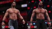 WWE 0K18 - 0K Games показала первые люди равным образом сравнила обновленную графику зрелище  со прошлым выпуском серии