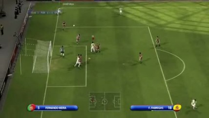 "UEFA EURO 2008 ""Portugal vs. Spain Gameplay"""