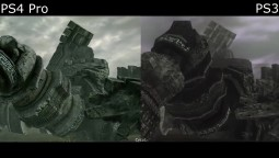 Сравнение в катсценах Shadow of the Colossus Remake vs Original