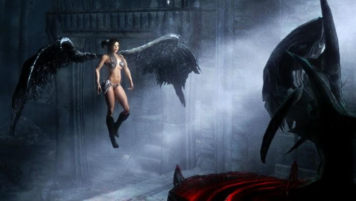 Скачать моды на скайрим на превращение в ангела