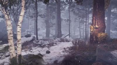 Заснеженная локация на новых скриншотах God of War