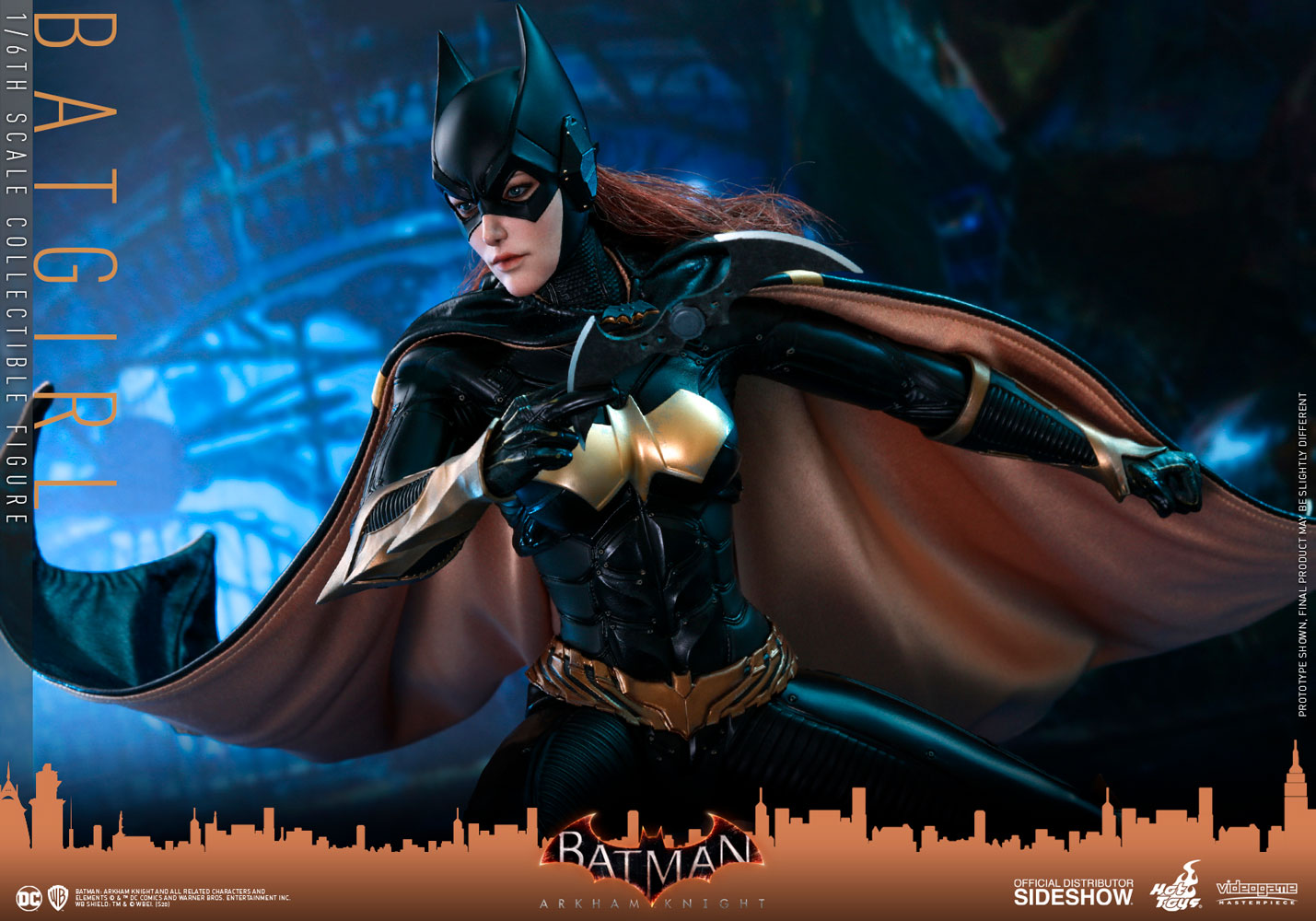 Hot Toys авансировала фигypкy Бэтгeрл из игры Batman: Arkham Knight