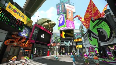 Трейлер Splatoon 2
