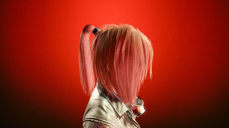Pink Rose (16 цвет прически в Save Editor)