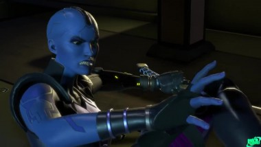 Guardians of the Galaxy: The Telltale Series все сцены драк Небулы